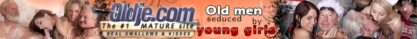 Oldje - Since 1992 Oldje.com presents original and exclusive content that combine romantic sex and a little fetish - Old, crusty and fat men in their 70s which are seduced and fucked by young and very attractive girls into nice and funny stories. Join Oldje.com now and get 400HD movies plus 3 extra sites.