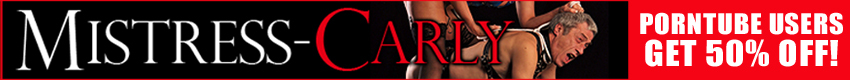 Mistress Carly - Mistress-Carly - The Sex Mistress, Men are her playthings - Their bodies to be used as my very own Sex-Toys!! Click the banner now to see more of your Mistress!